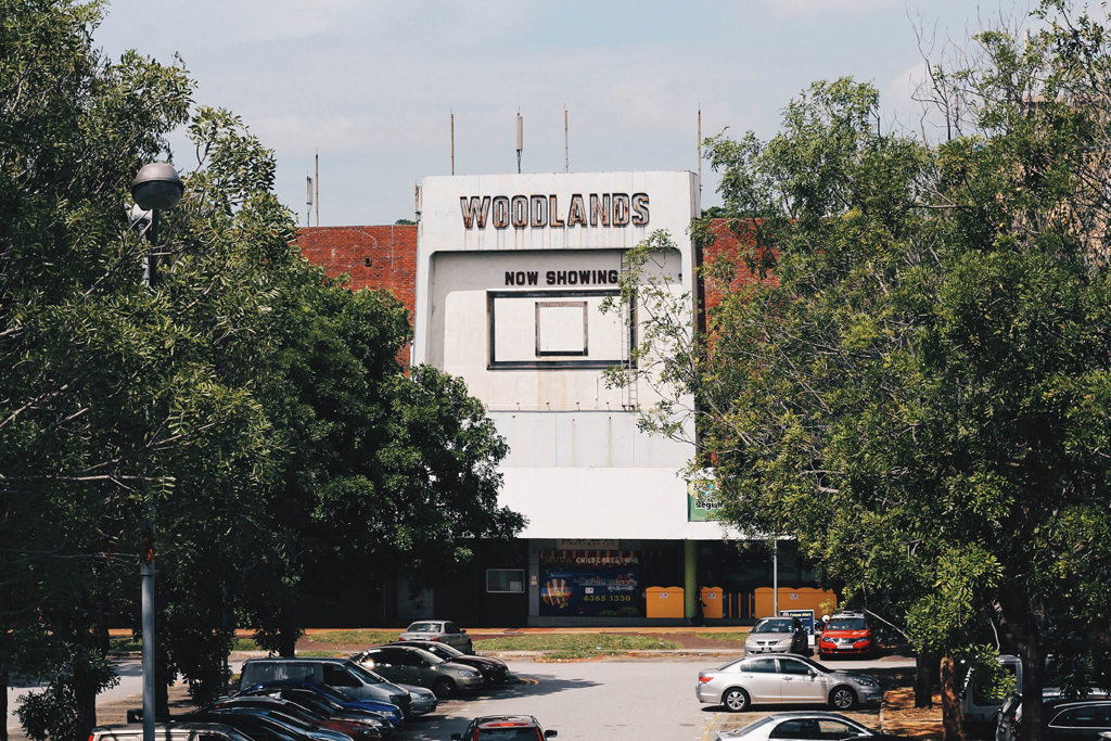 Old School: The famous old Woodlands Cinema was owned by the Shaw Brothers. This building stand tall and proud as a symbol of the first concept of cineplexes that was introduced in Singapore by the brothers. (Photo: Sabrina Muhleseddin)