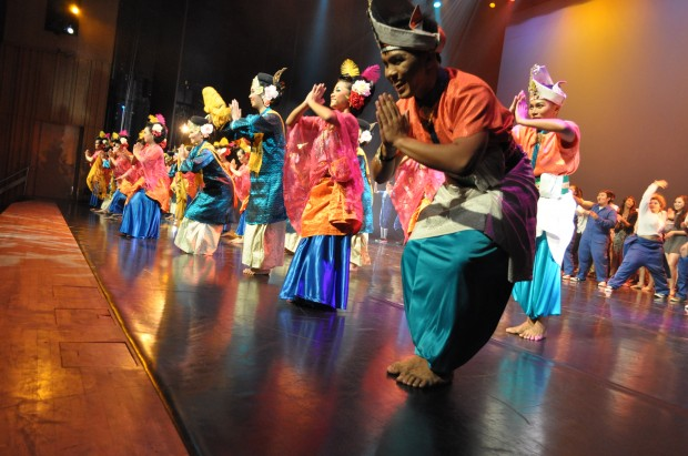 STANDOUT: The performance by Dharma Tarian was one highlight of Momentum. (Photo: Iffah Yasmin Abdullah)